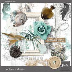 Sea Glass - elements | Studio Romy