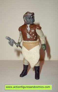 star wars action figures KLAATU 1983 vintage kenner 100% complete