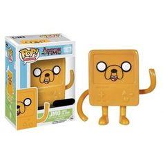 Funko Pop! JMO, Jake as BMO, Adventure Time, Hora da Aventura, Cartoon, Funkomania