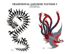 Traditional Japanese Tattoos 3 (Recent) Traditional Japanese Tattoo Designs, Drawings, Inspiration, Biblical Inspiration, Sketches, Drawing, Portrait, Resim, Draw
