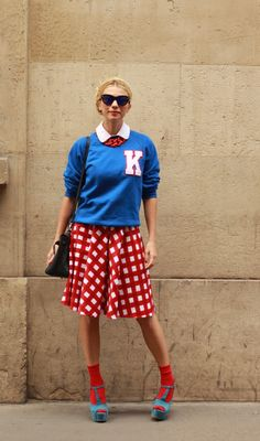 #zhannaromashka #asos #print #colors #mix #streetstyle #streetview #skirt #glasses #street #style #offcatwalk