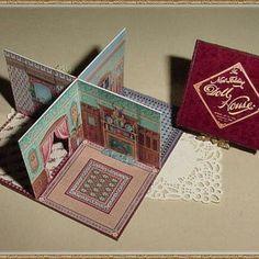 tiny folding doll houses - Google Search