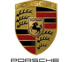 The horse on the Porsche logo, which was taken from Stuttgart's Coat of Arms, represents the stud farm on which the city was built. The Porsche symbol pays homage to Stuttgart. Porsche 550, Porsche Logo, Porsche Carrera Gt, Porsche Models, Porsche Panamera, Porsche Cars, Symbol Auto, K100 Bmw, Car Symbols