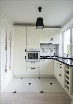 Кухня в хрущевке - пол