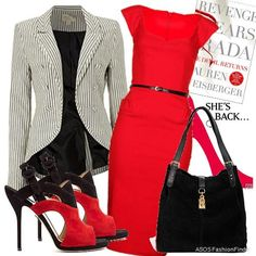 Devil red | Women's Outfit | ASOS Fashion Finder