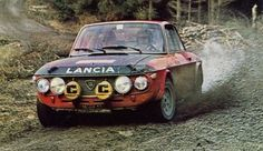 Lancia Fulvia rally car
