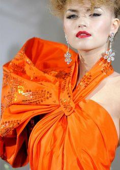 2015 haute couture in orange - Bing Images
