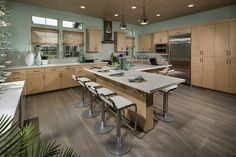 The Killer Landsdowne Plan 5 - Kitchen - Can you say chef's dream? #homedesign Sheahomes.com