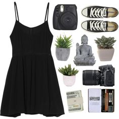 Sin título #125 by marina31ruecambon on Polyvore featuring mode, MINKPINK, Converse, Jack Spade, Universal Lighting and Decor, Lux-Art Silks and Nikon