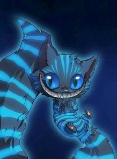 Blue Cheshire Cat