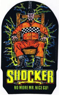 Shocker Vending Machine Prism Sticker