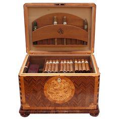 Cigar Humidor 150 (Floral design)