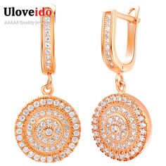 Find More Drop Earrings Information about Uloveido 50% off Long Vintage Crystal  Brincos para Casamento Earrings,Drop Earrings…