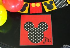 Mickey Mouse party p