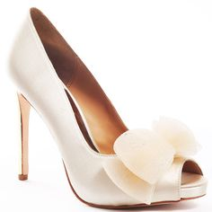 Badgley Mischka Xolani - Ivory Satin $214.99