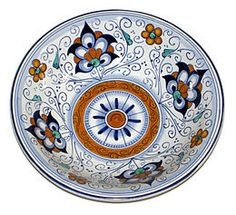 Faience or faïence is the conventional name in English for fine tin-glazed pottery on a delicate pale buff earthenware body, originally associated with Faenza in northern Italy.