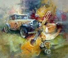 Любовь одна... художник Kostas Rigoula Tsigris. Обсуждение на LiveInternet - Российский Сервис Онлайн-Дневников