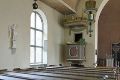 File:Dorotea church pulpit.jpg