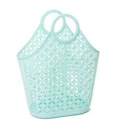 Makin' our minty-fresh dreams come true. Limited stock! #jellyish #jellybags #vintagestyle #retro #beachbags #fromwhereistand #abeautifulmess #polyvore #fashionista #momlife #whowhatwear