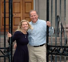 In front of the Baptist Church on Meeting Street - Charleston SC