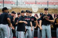 2014-2015 Texas Tech Baseball team