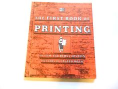 The First Book of Printing a Vintage by lizandjaybooksnmore