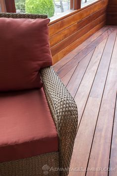 Discover the alluring and striking look of Tigerwood decking from AdvantageLumber.com ® #california #patio