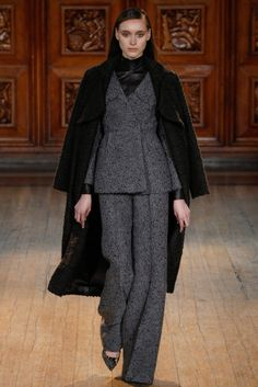 Emilia Wickstead LFW autumn-winter 2014/2015