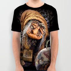 Rucus Studio Gypsy Hag All Over Print Shirt