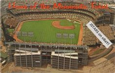 1966 BLOOMINGTON, MINNESOTA, TWINS METROPOLITAN STADIUM