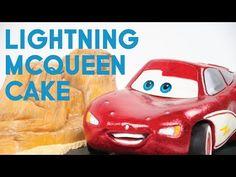 Lightening McQueen Cake - The Making - YouTube