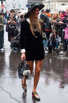 Street style. S\S 2015 Paris. FW
