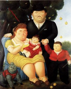 Familia, Fernando Botero