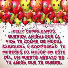 Feliz cumpleaños Spanish Birthday Wishes, Happy Birthday Wishes, Happy B Day, Baby Development, Cute Cards, Birthday Quotes, Birthdays, Diana, Mini Mouse