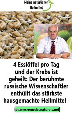 4 tablespoons a day and the cancer is cured: the famous .- 4 Esslöffel pro Tag und der Krebs ist geheilt: Der berühmte russische Wissensc 4 tablespoons a day and the cancer is cured: the famous Russian knowledge c … – the - Gut Health, Health And Wellness, Health Fitness, Cancer, Natural Sleep Remedies, Lose Weight, Weight Loss, Blog Love, Type 1 Diabetes