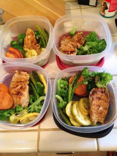 Healthy meal prep for the week