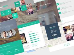 GerduKreatip is a creative agency/portfolio template. Free PSD designed and released byAndreansyah Setiawan.