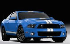 mustang shelby GT 500 2012