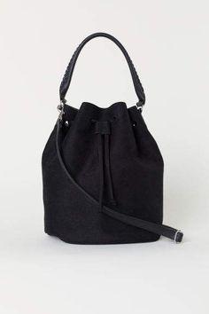 Cute summer Purses · H amp M Bucket Bag - Black Womens Purses 69c60e526d