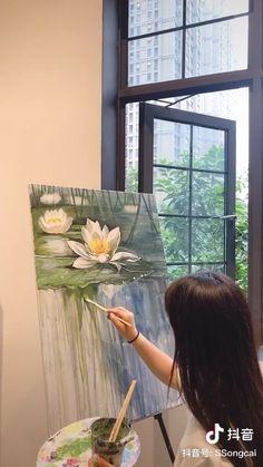 Acrylic Art, Acrylic Painting Canvas, Guache, Diy Canvas Art, Art Plastique, Watercolor Art, Art Drawings, Paintings, Fantasy