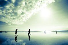 Mirror-beach, Kuta, Bali