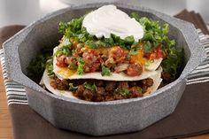 Easy Layered Taco Pie