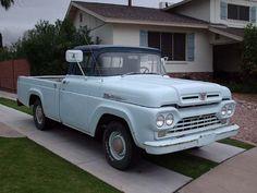 1960 Ford F-100 Longbed Pickup Truck #AmericanCars
