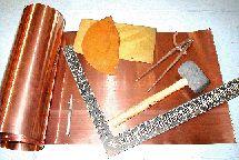 Whimsie Studio Craft Metal & Tools. Sheet & Wire in Copper, Aluminum, Brass & Nickel