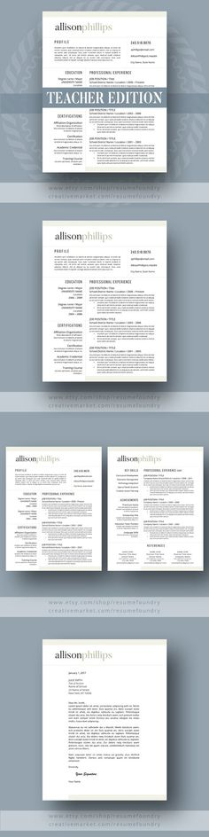 teacher resume template 123 pag resume templates - Teacher Resumes Templates
