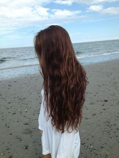 This will be me someday; long hair, skinny, standing on oceans side...  C'est la vie