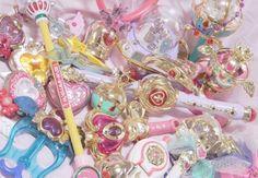 Magical Girl Wands ☆ミ