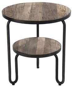 One Kings Lane - Rethink Your Bedside - Celeste Round Side Table