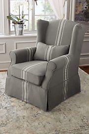 Slipcovered Tristan Chair - French Grey Stripe Soft Surroundings http://www.amazon.com/dp/B00LUHEZPI/ref=cm_sw_r_pi_dp_mxqDub1ZMZEZY