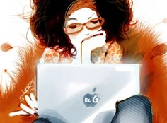 Reading, read, woman reader / Leer, lectura, lectora (ilustración de Sophie Griotto)